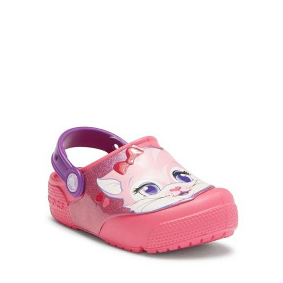339cb7716d3 CROCS Other - Crocs | Kids Funlab Lights Cat Crocs